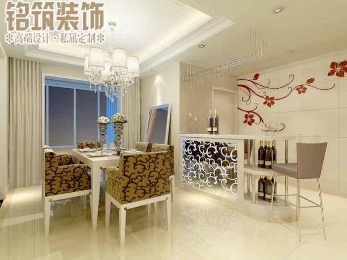 现代简约-140平米三居室-装修设计