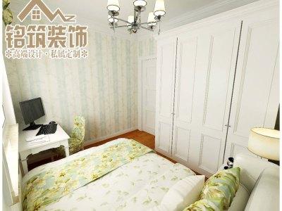 田园风格-95平米二居室装修样板间