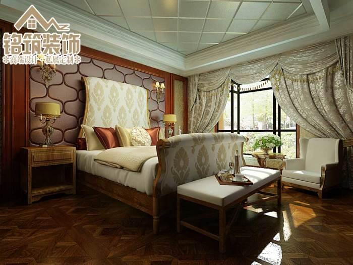 简欧风格-140平米三居室-装修样板间