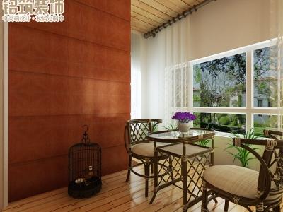 中式古典-140平米三居室装修样板间