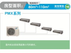 上海大金家用中央空调一拖四多联机PMXS401