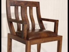 北欧篱笆BO-H-M013北美黑胡桃书桌椅