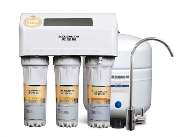 AO史密斯净水设备AR75-D1厨下式 净水机直饮RO反渗透