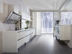 皮阿诺整体橱柜定做 现代简约整体厨房厨柜订做 博拉博拉