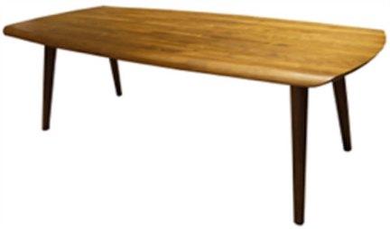 多少Moreless 黑胡桃木 原色 餐桌