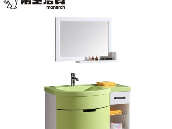 帝王洁具浴室柜台盆柜卫浴柜pvc浴室柜挂式浴室柜AC3008