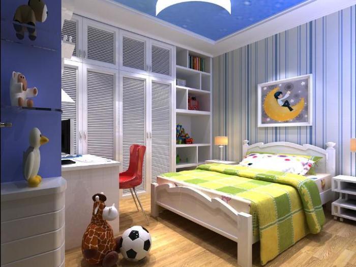 现代简约-138.6平米三居室-装修样板间