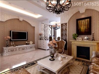 欧美风情-802平米二居室装修设计