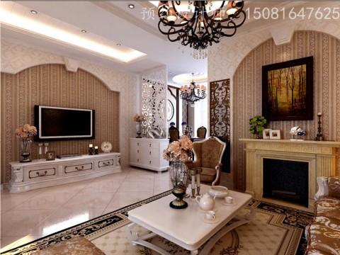 欧美风情-802平米二居室-装修设计