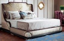 御玺新中式双人床图片