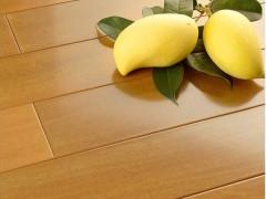 安信地板 纯实木地板萼叶茜木柠檬色