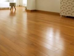 安信地板 非洲缅茄纯实木地热地板