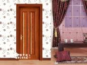 平板实木造型门,造型实木套装门,隔音超强实木套装门