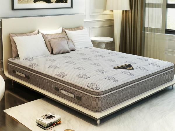 穗宝 PRO-S 天然乳胶硬度海绵透气凝胶双层弹簧床垫
