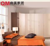 曲美家具 简约环保箱体床 1.2米 1.5米 1.8米储物床图片