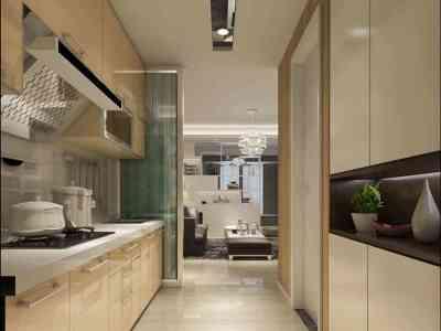 现代简约-40平米一居室装修样板间