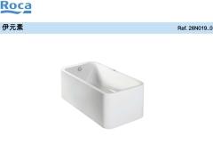 伊元素独立式爱泡空气按摩浴缸 乐家按摩浴缸