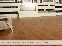 莱茵阳光梦幻系列北美金色麦田RSDR006 强化复合地板