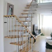 雅步迪美楼梯厂直销钢木楼梯