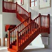 北京雅步(迪美)楼梯厂直销实木楼梯
