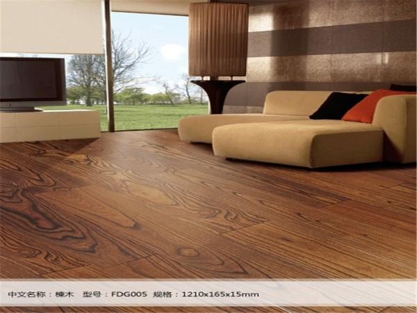 莱茵阳光斯里兰卡系列楝木FDG005实木复合地板