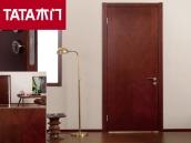 TATA木门PH-002紫薇室内门油漆门房门实木复合门