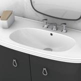 giessdorf/吉事多 艾珀卡一体式陶瓷台盆 欧式浴室柜