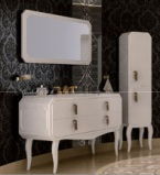 giessdorf/吉事多 ESL艾尔斯浴室柜(配一体陶瓷盆图片
