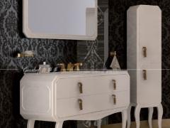 giessdorf/吉事多 ESL艾尔斯浴室柜(配一体陶瓷盆