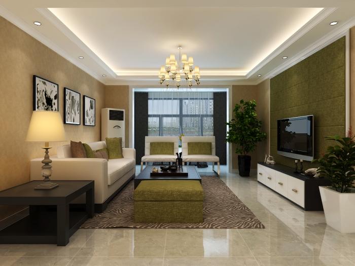 现代简约-139.3平米三居室-装修设计