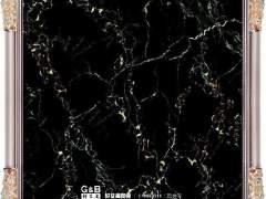 黑白灰装饰墙地面全抛釉瓷砖