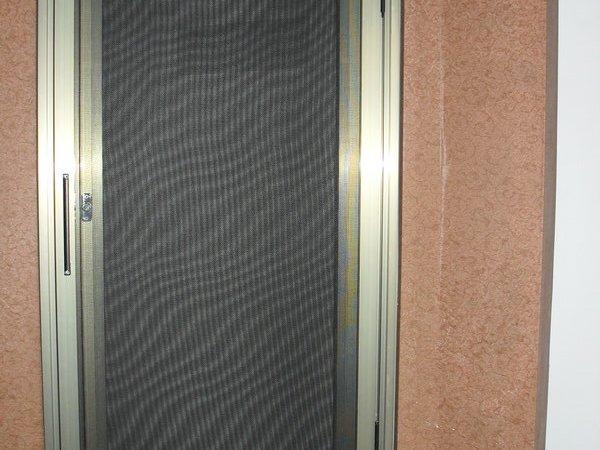 意美达牌可拆洗外装内平开纱窗