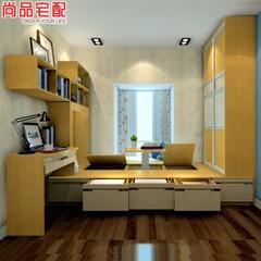 尚品宅配 榻榻米升降桌书房成套家具 多功能1房5用 书房定制