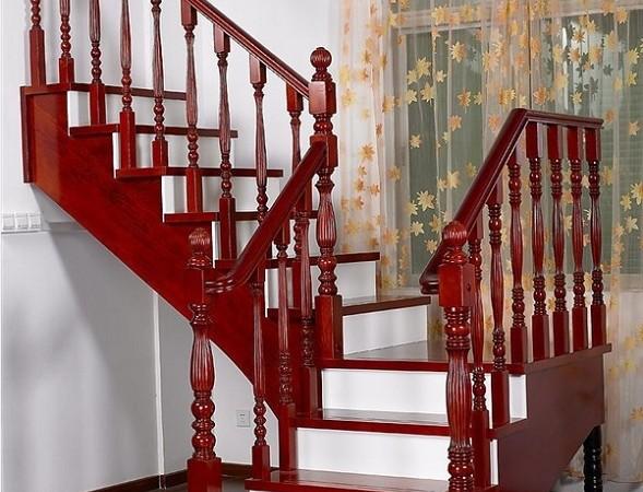 雅步迪美楼梯 L型纯实木楼梯