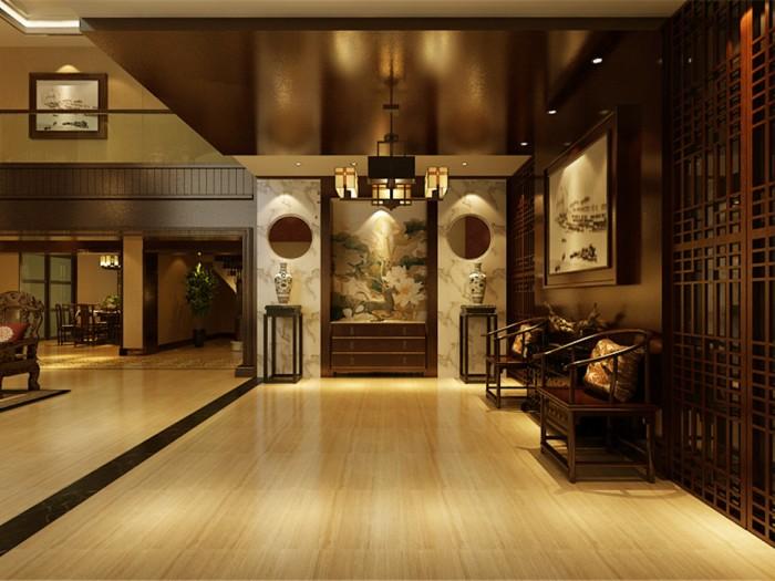 新古典风格-375平米五居室-装修样板间