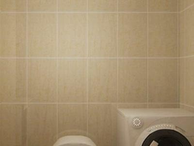 混搭风格-68平米一居室装修样板间