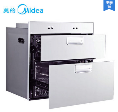 Midea/美的 MXV-ZLP90QD301 嵌入式消毒柜