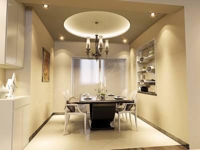 现代简约-141平米三居室装修样板间