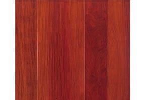 大自然地板 实木地板 恒美人地热系列 亚花梨