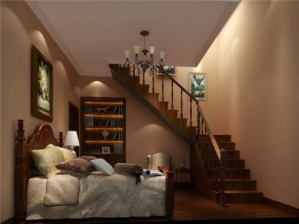 托斯卡纳风格三居室卧室装修效果图欣赏