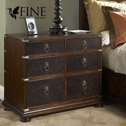 FINE精制 美式传统 欧式复古 卧室书房 高档实用 学士柜