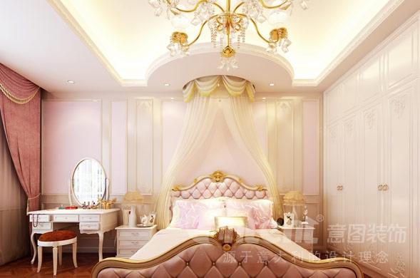 欧美风情-350平米六居室-装修设计