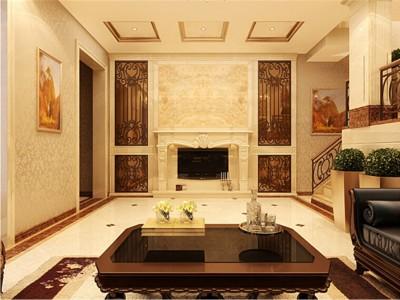 新古典风格-350平米四居室装修设计