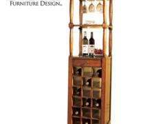FINE精制美式传统酒架 实木酒架 葡萄酒架 简约时尚个性