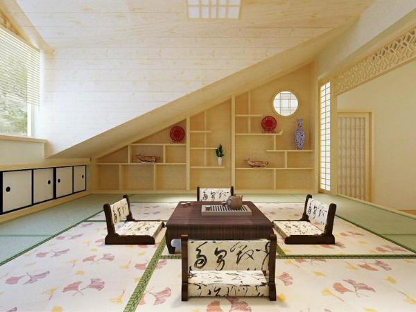 千代和室榻榻米 整体卧室 实木定制