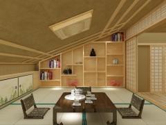 千代和室榻榻米 整体卧室 实木定制家居