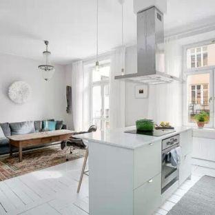 北欧风格一居室客厅装修效果图