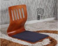 禾艺轩榻榻米h-03和室曲木椅无腿椅图片