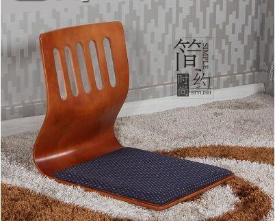 禾艺轩榻榻米h-03和室曲木椅无腿椅