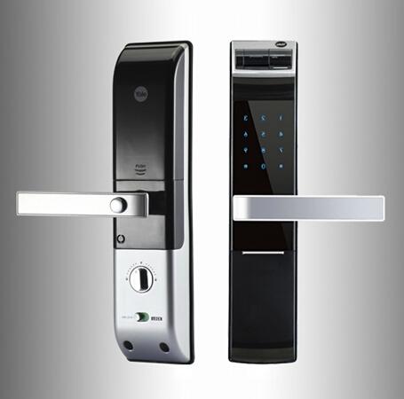 耶鲁指纹锁 4109型 指纹密码锁 南京指纹锁